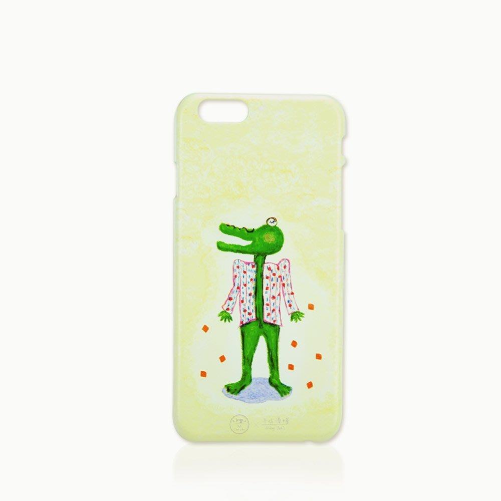 Cest Si Bon|【限量現貨•優惠】插畫立體浮雕iphone系列手機殼(氣勢鱷魚)