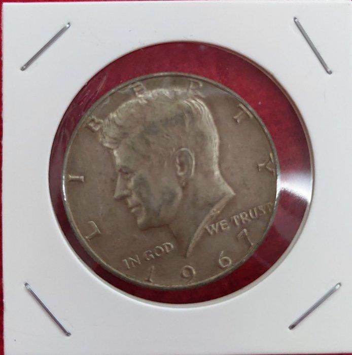 1967年甘迺廸銀幣