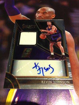19 20 Select - Kevin Johnson 限量/199 球衣簽名卡