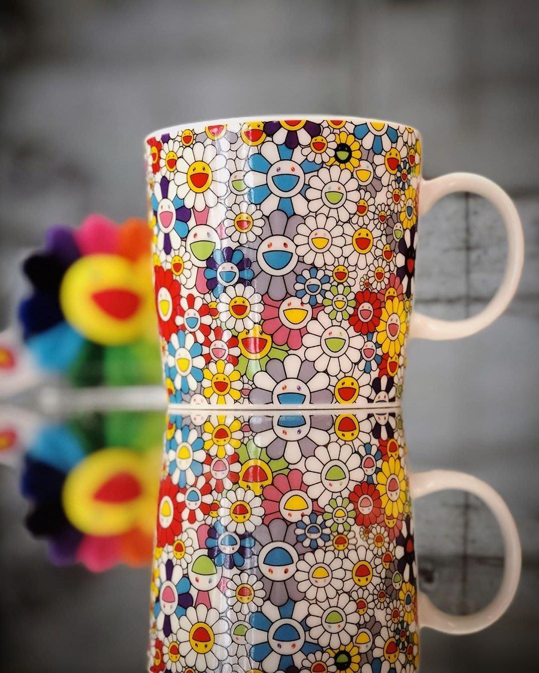 【日貨代購CITY】2020SS Kaikai Kiki Flowers 村上隆 滿版 小花 馬克杯 現貨
