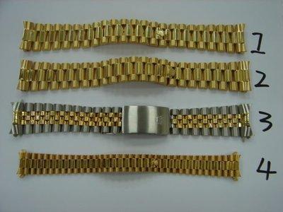 台中 流當品拍賣 原裝 ROLEX 勞力士 2手 18038 18238 69178 16233 18K金 錶帶 ZR085