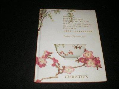 -佳士得CHRISTIE'S HONG KONG玉剪霓裳--張宗憲御製瓷器珍藏  2006精裝