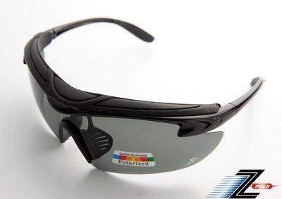 可配度設計新款上市!【Z-POLS悍將帥氣功能款】烤漆質感黑 舒適頭墊 寶麗來帥氣偏光 強抗UV運動眼鏡!