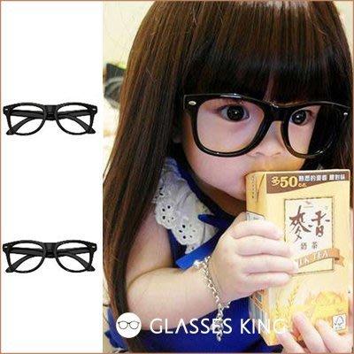 【斷貨出清】眼鏡王☆小孩兒童造型眼鏡框韓國人氣丁小雨糖果色紅色黑色綠藍色黃色雷朋鉚釘K2