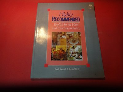 【愛悅二手書坊 15-36】Highly Recommended: English for the Hotel