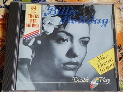 R西洋女(二手CD)BILLIE HOLIDAY~MISS BROWN TO YOU~無ifpi