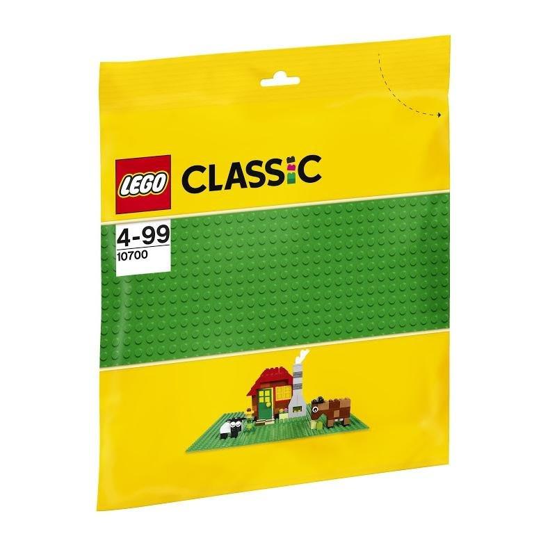 好好玩樂高 LEGO 10700 樂高積木  綠色底板