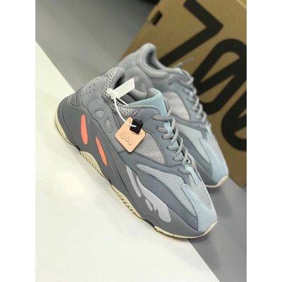 "Adidas Yeezy Boost 700 ""Inertia"" 灰白橘 慢跑休閒鞋 EG7597"