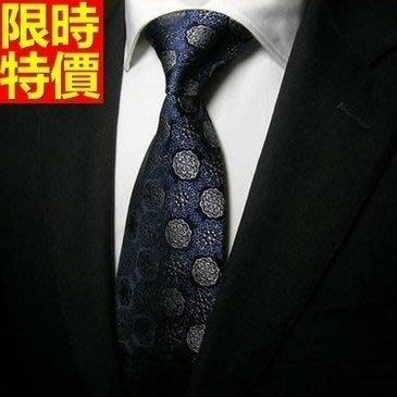 領帶 桑蠶絲男配件-奢華高檔圓點商務紳士手打領帶66ae11[獨家進口][巴黎精品]