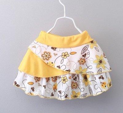 短裙5678歲兒童半身裙夏季針織百褶裙公主百搭韓版修身款蛋糕裙