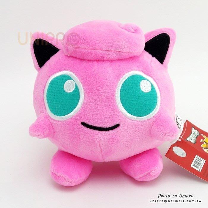神奇寶貝 XY 胖丁 Jigglypuff 15公分 絨毛娃娃 玩偶 吸盤吊飾 禮物 正版授權 寶可夢 Pokemon