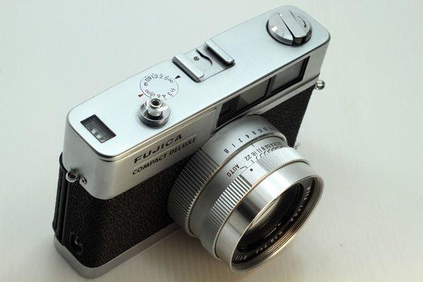 FUJI CA CITIZEN 45MM F1.8 頂級連動疊影相機 LEICA CONTAX ROLLEI