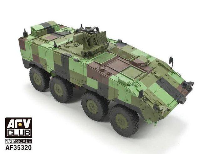 AFV Club 戰鷹 1/35 中華民國陸軍CM-32/33/萬鈞車 雲豹八輪裝甲車 雲豹裝甲車 (AF35320)