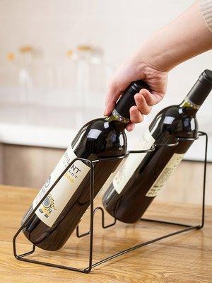 新款家居居家家鐵藝紅酒架創意吧臺擺件葡萄酒架歐式酒瓶架家用客廳酒架子