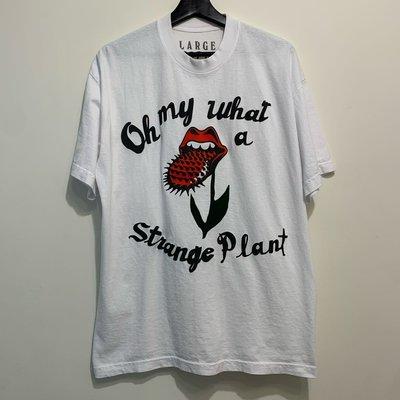 CACTUS PLANT FLEA MARKET X THE ROLLING STONES - STRANGE PLANT T-SHIRT CPFM