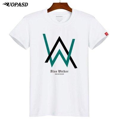 【免運】Alan Walker短袖 艾倫沃克T恤同款faded男女寬鬆大碼DJ音樂歌星潮  COLO10367