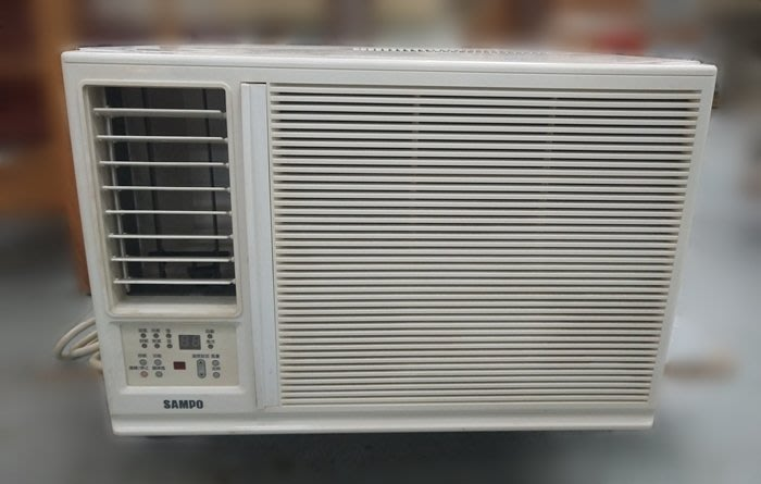 台中2手家具 【宏品二手傢俱賣場】AC1077*聲寶一噸分離式冷氣 220V *2手家電 冰箱 分離式 窗型冷氣賣場新竹