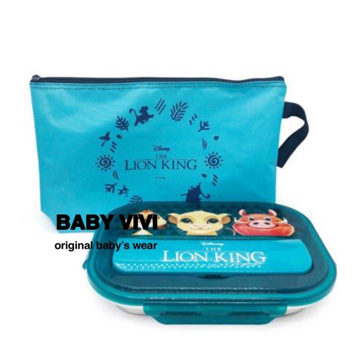 預購。正版授權獅子王304不鏽鋼餐盤組(HBB90911-029)  *韓國空運來台  單