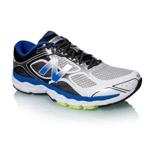 運動GO~ New Balance 4E寬楦 避震 慢跑鞋 輕量 白藍 透氣 大尺寸 US9~12 M860WB6