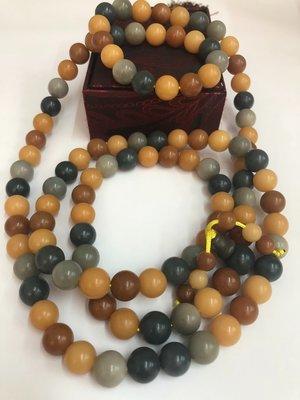 菩提根 天然緬甸菩提根子108顆手珠串12mm 佛珠  風化的菩提根子 風化成不同顏色  都是天然