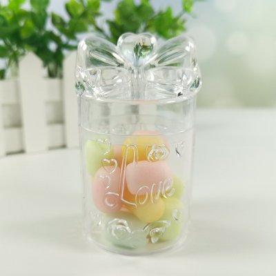 圓形透明禮物盒型-糖果盒