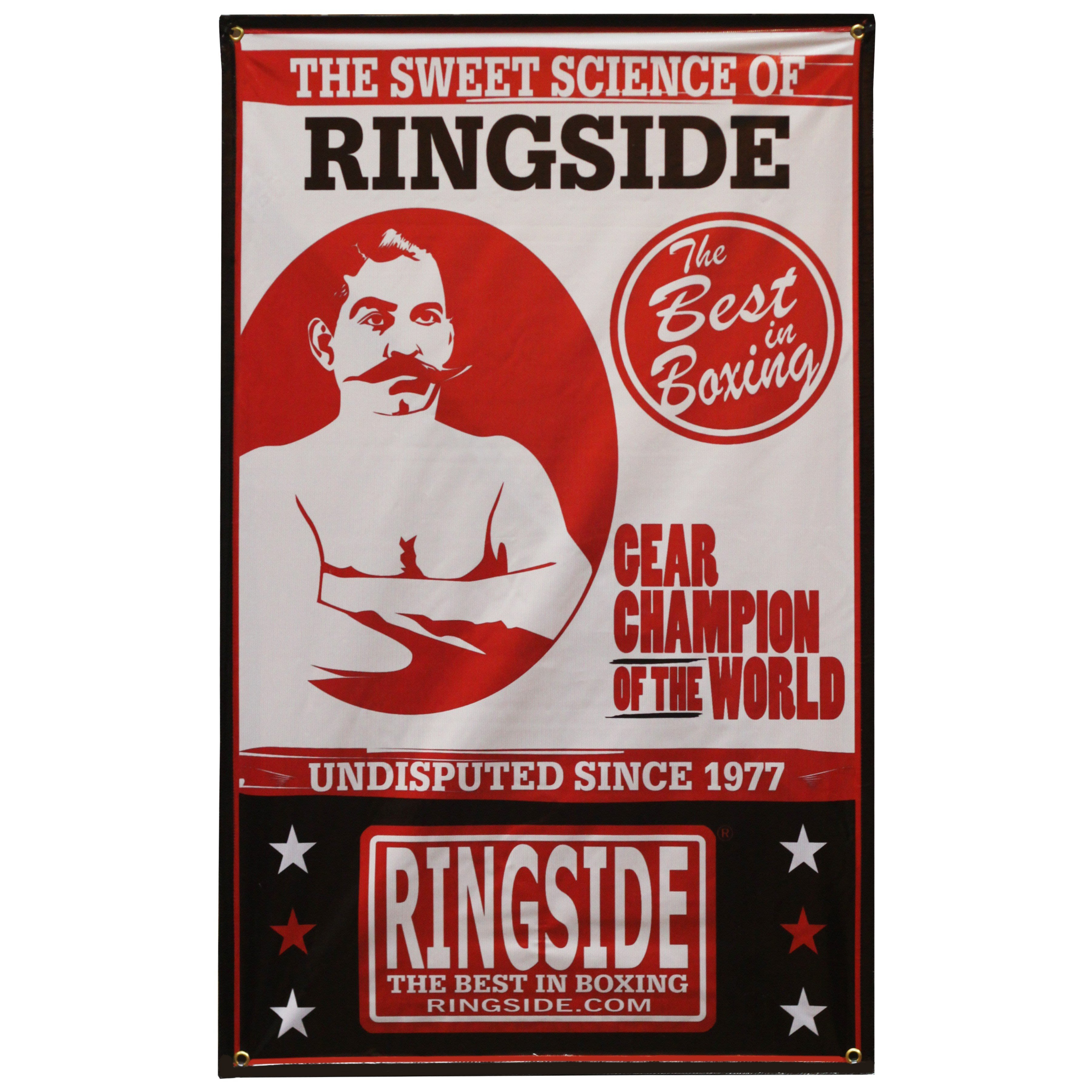Ringside Sweet Science Banner 掛圖