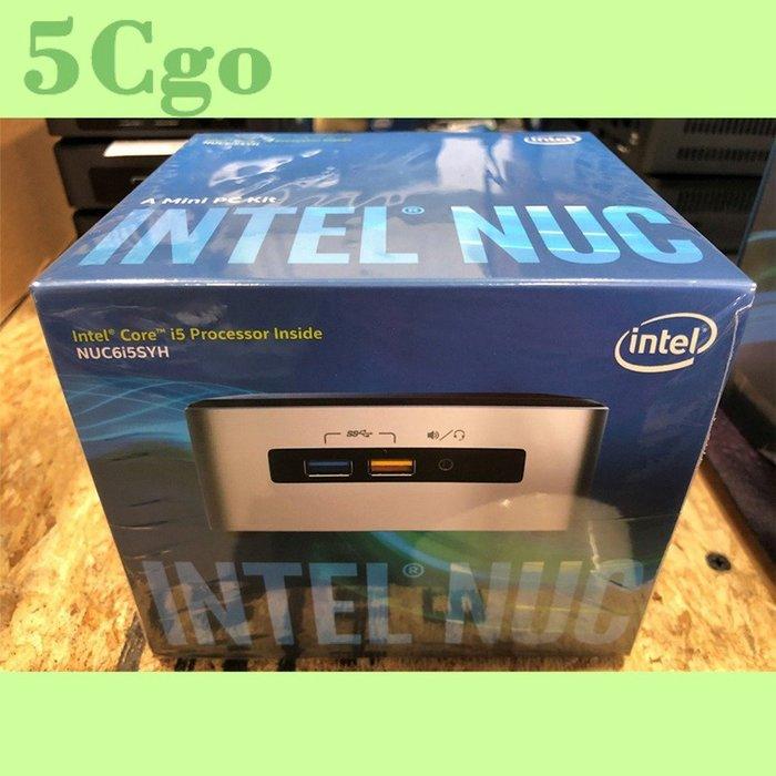 5Cgo【權宇】全新Intel NUC6i5SYH/i5-6260U/DDR4/NUC迷你電腦 可加購8G+360G含稅