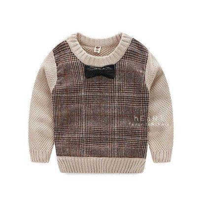 【可愛村】紳士領結針織毛線衣上衣 領結 針織 毛線 上衣