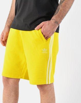 【Dr.Shoes】Adidas Originals BLC 3-S Short 男裝 黃 休閒 運動短褲 ED6029