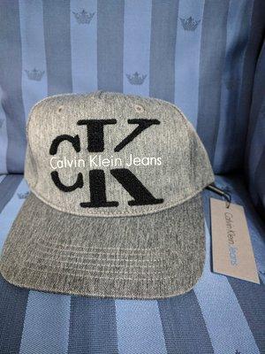 『BAN'S SHOP』Calvin Klein Logo Cap Grey  CK棒球帽  灰色  經典款 全新 男女款 英國購回