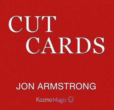 【天天魔法】【S1211】正宗原廠~視覺三明治~Jon Armstrongs Cut Cards