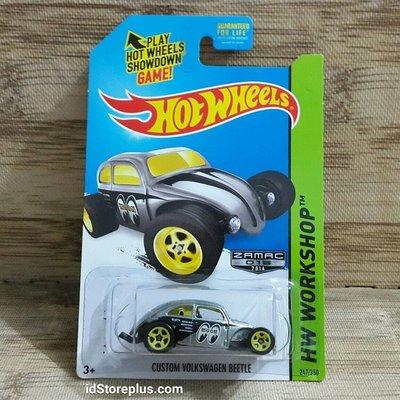 (I LOVE樂多)限量MOONEYES x 2014風火輪Hot Wheel VW  VOLKSWAGEN BEETL