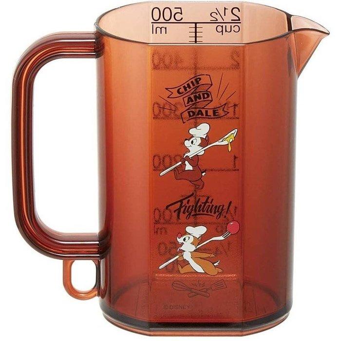 【莓莓小舖】正版 ♥ Disney 迪士尼 奇奇蒂蒂  量杯 500ml