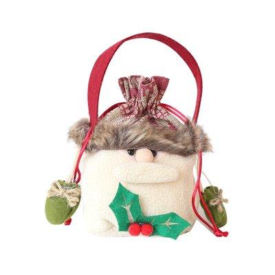 嵐亭序  聖誕節手提袋蘋果袋禮盒雪人老人麋鹿襪子禮品袋擺件裝飾