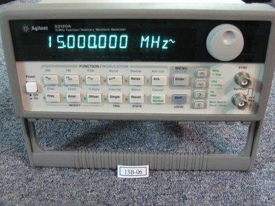 (PLCMARKET) HP/Agilent安捷倫  15MHz Function Generator 函數波型產生器