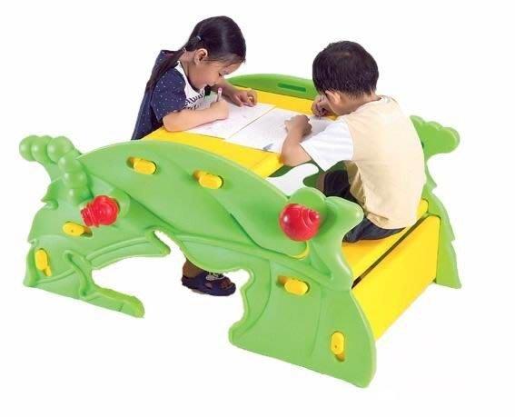 @企鵝寶貝二館@ 樹葉兩用桌椅、搖搖椅、遊戲桌~可議價 請先詢問是否有貨???