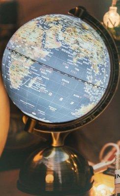 5吋(13公分)亮面衛星原貌金屬底座(附燈/中文版)MS-0533M