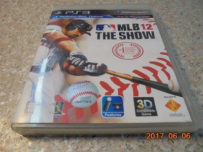PS3 MLB 12 The Show 美國職棒大聯盟12 英文版 直購價300元 桃園《蝦米小鋪》