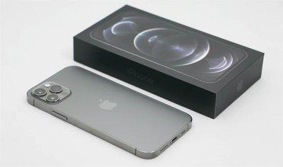 APPLE 石墨 iPhone 12 PRO MAX 128G 近全新 最美最棒的手機 刷卡分期零利 無卡分期