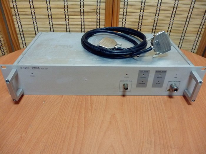 康榮科技二手儀器領導廠商 Agilent E1852A Bluetooth Test Set ( 藍芽測試儀)