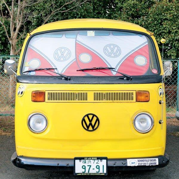(I LOVE樂多)Flowserve Sunshade VW Bus 福斯T1 通用 折疊收納式遮陽板