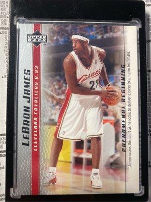 2003-04 lebron james RC新人卡 保存良好 品相佳 非 jordan Kobe Zion doncic