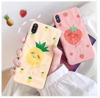 ☆韓元素╭☆Mobile-Style 水果造型 iPhone 11 保護套 6.1吋 軟式保護殼  草莓 鳳梨 軟殼