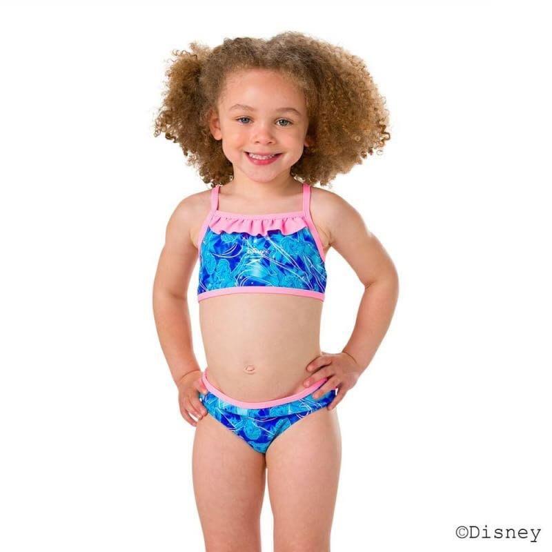 Speedo 兒童泳裝 兩節式泳裝 冰雪奇緣泳裝