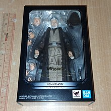 全新 Bandai SH Figuarts(SHF) Star Wars Ben Kenobi A New Hope 星球大戰 新的希望 肯諾比