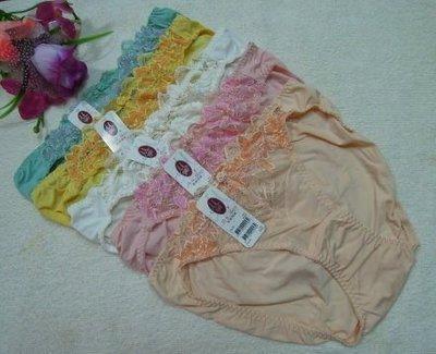 曼黛瑪璉~愛緻集系列~繡花內褲~F8228~~L XL~粉橘 白 金黃 粉紅~絲質褲