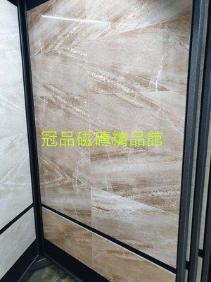 ◎冠品磁磚精品館◎進口精品 高亮釉數位噴墨壁磚-咖啡石紋- 30X60 CM 新北市