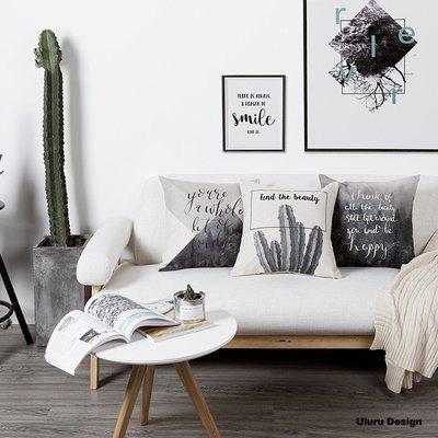Cactus仙人掌 抱枕 Uluru Design 客廳 臥室 Loft  工業風 鄉村風 居家裝飾 飾品
