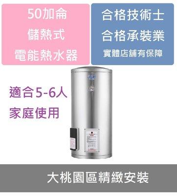 【大桃園區精緻安裝】莊頭北TE-1500  50加侖儲熱式電能熱水器(二種價格選擇.讓您挑選最適合的交易模式)
