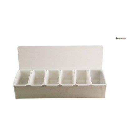 【無敵餐具】不繡鋼水果盒/保存盒(6格37.6x15x9cm(BF-05-6S)開店量多可來電洽詢【BBG-15】